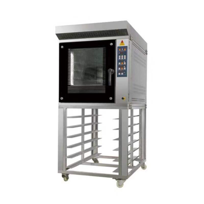 BD-10E 10 Trays Stainless Steel Electric Convection Oven For Biscuit