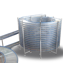 BDL-450 450mm Stainless Steel Spiral Cooling Conveyor For Bread