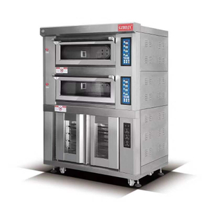 BDR-40HF Gas Pizza Deck Oven With Dough Fermentation