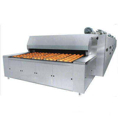 BDS-20QJZ Air Centralized Gas 3 Trays Tunnel Oven For Bread